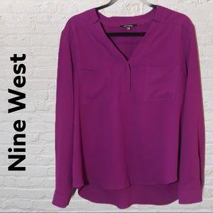 Nine West blouse - purple
